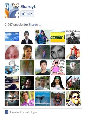 Check for people who liked shareyt on facebook and like our fanpage
